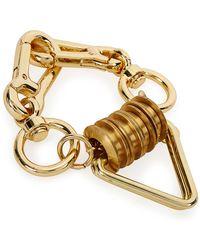 Moxham - Otto Gold-plated Bracelet - Lyst