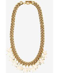 Nasty Gal Star-Crossed Chain Necklace - Lyst