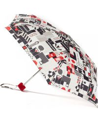 Lulu Guinness | London Print Tiny Umbrella | Lyst