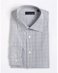 Joseph Abboud Microcheck Cotton Dress Shirt - Lyst