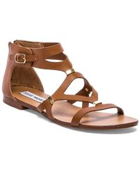 Steve Madden Brown Comma Sandal - Lyst