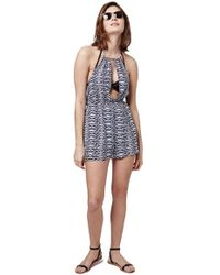 Topshop | Cover-up Romper | Lyst