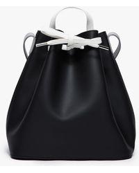 PB 0110 Drawstring Bucket Bag black - Lyst