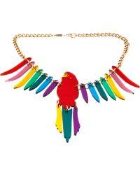 Tatty Devine - Parakeet Chain Necklace - Lyst