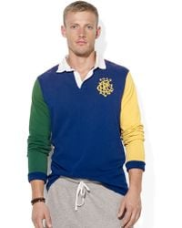 Polo Ralph Lauren Colorblocked Rugby Shirt - Lyst