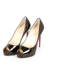 Christian Louboutin Patent-Leather-Pumps - Lyst