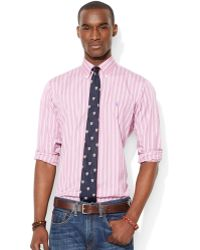 Ralph Lauren Polo Multi Striped Cotton Shirt - Lyst