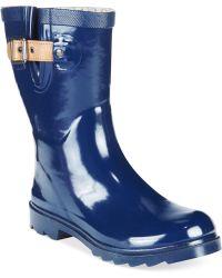 Chooka Top Solid Mid Rain Boots - Lyst