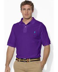 Polo Ralph Lauren Classicfit Stretch Mesh Polo - Lyst