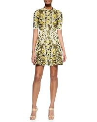 M Missoni Lurex Chameleon Fit--flare Dress - Lyst