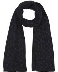 Hobbs Leopard Scarf - Lyst