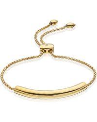 Monica Vinader Essencia Chain Bracelet - Lyst