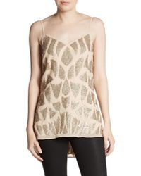 Needle & Thread Sequined Tunic Top - Lyst