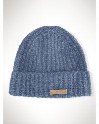 Polo Ralph Lauren Rag Wool Cuffed Hat - Lyst
