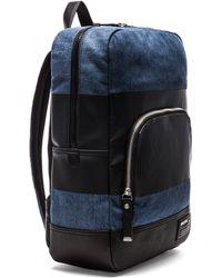 Diesel Blockin Denim Blockin Backpack - Lyst