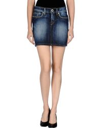 S.o.s By Orza Studio - Denim Skirt - Lyst
