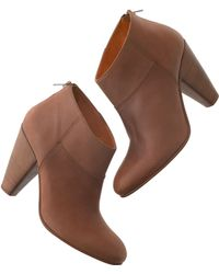 Madewell The Shortcut Bootie - Lyst
