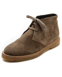 Vince Clay Lace Up Booties Flint - Lyst