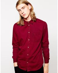 Cheap Monday Shirt Plain - Lyst