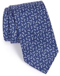 Maker & Company - Floral Cotton & Silk Tie - Lyst
