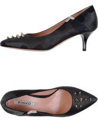 Pinko Pump gray - Lyst