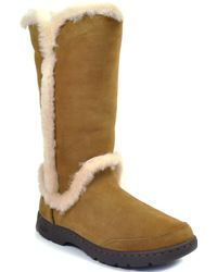Ugg | Suede Shearling Boot | Lyst