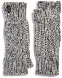 Vince Camuto - Cable Knit Arm Warmers - Lyst