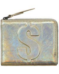 3.1 Phillip Lim - Mini Zip Around Wallet Warm Silver - Lyst