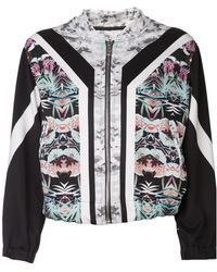 The Textile Rebels Camouflage Striped Jacket - Lyst