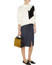 Acne Studios Linen-twill Wrap Skirt - Lyst