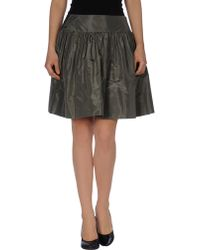 Dior Mini Skirt - Lyst