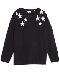 Chinti & Parker | Shoulder Star Sweater | Lyst