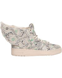 e706c2eb4696 Jeremy Scott for adidas - 10th Anniversary Wings High Top Sneakers - Lyst