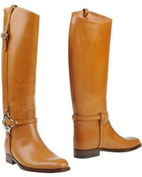 Gucci Brown Boots - Lyst