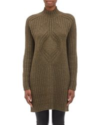 Givenchy Turtleneck Sweater Dress - Lyst