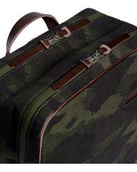 Seventy Eight Percent 'katz' Camouflage Boxy Canvas Backpack