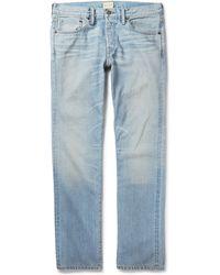 Simon Miller M001 Copen Washed-Denim Jeans - Lyst
