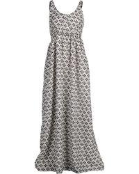 Cutie Black Long Dress - Lyst