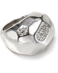 ABS By Allen Schwartz - High Shine Domed Ring - Lyst
