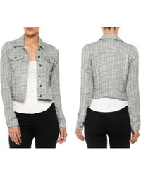 Joe's Jeans Cropped Jacket - Lyst