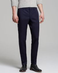 Moncler Contrast Stripe Trousers - Lyst