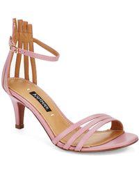 Kay Unger - Basque Sandals - Lyst