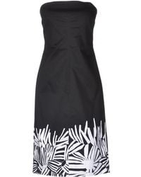 Max Mara Studio B Short Dress - Lyst