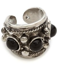 Jules Smith Assorted Gem Ring Silverblack - Lyst