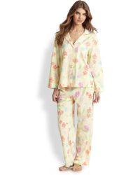 Cottonista - Floral Supima Cotton Pyjamas - Lyst
