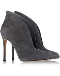 Gianvito Rossi Ankle Boots gray - Lyst