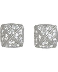 Linda Lee Johnson - La Pyramid Deux Studs - Lyst