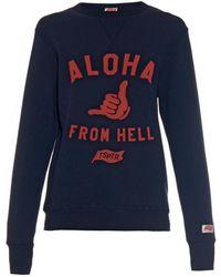 Tsptr - Aloha From Hell-Printed Sweatshirt - Lyst