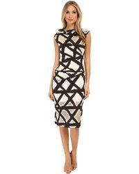 Vivienne Westwood Anglomania Taxa Jersey Dress black - Lyst