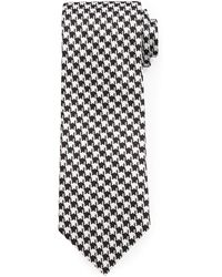 Tom Ford Houndstooth Jacquard Tie - Lyst